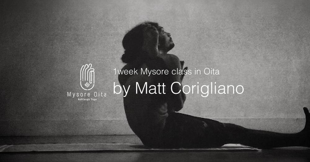 マット・コリリアーノ先生の大分ワークショップ2018